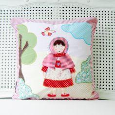 Little Red Riding Hood Decor Pillow