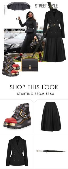"""StreetStyle Paris FashionWeek"" by statuslusso ❤ liked on Polyvore featuring Prada, Vince, Joseph, Alexander McQueen, Frame, StreetStyle, PFW, fashionWeek and fall2017"