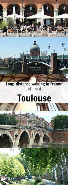 Known as la Ville Rose for the beautiful red brick buildings lining the streets, Toulouse is the fourth largest city in France and starting point of a long-distance walk (cycle or boating holiday) along the Midi Canal. Let's explore before starting the 5-day walk to Carcassonne. #walkingholidayinfrance
