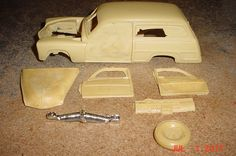 1950 Mercury Eight Woody Station Wagon RESIN 1/25th  #QSD
