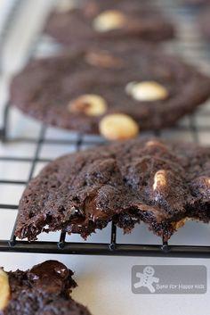 Subway Dark Chocolate White Chocolate Chips Cookies