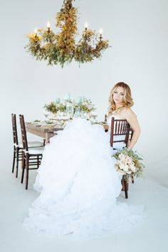 Photography: Cojo Photo - www.cojophoto.com  Read More: http://www.stylemepretty.com/canada-weddings/2014/12/30/mint-gold-and-blush-wedding-inspiration-shoot/