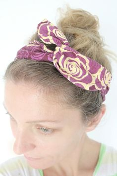 DIY wire headband se