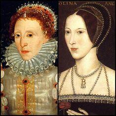 Anne Boleyn & Elizabeth I portraits