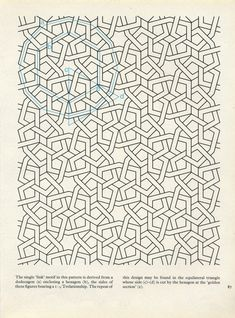 PIA 087 : Pattern in Islamic Art, David Wade | Pattern in Islamic Art