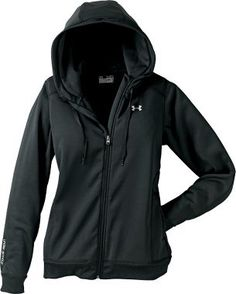 Under Armour Women's Armour Fleece Full-Zip Hoodie -for the cold runs to come!