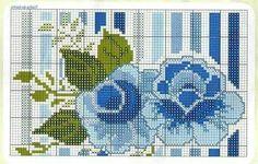 Rosas azuis... 1