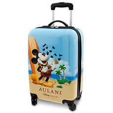 Mickey Mouse Luggage - Aulani Disney Resort Mickey Mouse Luggage, Disney Luggage, Travel Luggage, Disney Handbags, Disney Purse, Mickey Love, Mickey And Friends, Disney Wishes, Disney Addict