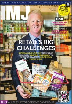 IMJ October Issue 2015 Advertising Industry, Big Challenge, The Marketing, News Media, Digital Technology, Irish, October, Journal, Means Of Communication