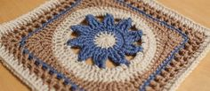 One Block a Week CAL: Week 6 Blooming Lace 2014.2/19 free pattern on ravelry