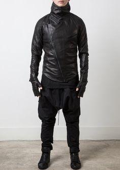 Delusion Insanity Leather Jacket