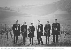 Winter wedding  Image: Cari Photography