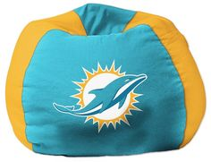 Use this Exclusive coupon code: PINFIVE to receive an additional 5% off the Miami Dolphins Bean Bag Chair at SportsFansPlus.com