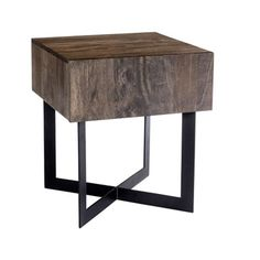 Solid Wood Side Table - 20W - 46240 and more Lifetime Guarantee
