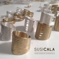 """31 Likes, 2 Comments - S U S I C A L A ® (@susicala_jewelrydesign) on Instagram: """"J E W E L P A R T Y 💍💍🎉🎉#tgif #friday #welcomeweekend #yourjewelryessentials #silverjewellery…"""""""