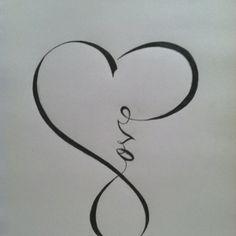 infinity + love.... love it!