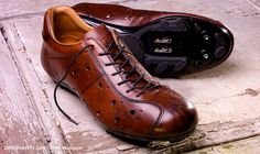 Handmade Italian leather uppers and leather lining. Accommodates most pedal systems.