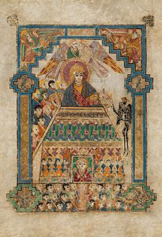 From the Book of Kells at Trinity College Dublin----GREAT exhibit. I shared my love of this exhibit with one of my professors who has since passed away.