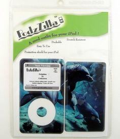 Apple iPod Size 5g Skin Shield Protection Podzzilla Dolphin Ocean Scene New | eBay