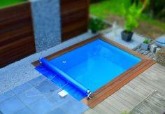 Kleiner Pool - quadratisch