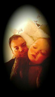 #lillejenta#pappajenta#kos