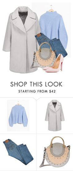 """""""Light"""" by fea1911 on Polyvore featuring мода, Levi's, Chloé и Christian Louboutin"""