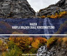 """Kaizen jest jak kropla która drąży skałę. Co to jest Kaizen? W wolnym tłumaczeniu zmiana na lepsze, bo """"kai"""" oznacza zmianę, a """"zen"""" oznacza dobro."""