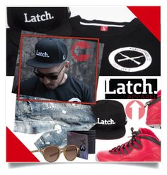 """Latch-Apparel-Co Menswear Group Contest"" by captainsilly ❤ liked on Polyvore featuring NIKE, Y-3, Giorgio Armani, men's fashion and menswear"