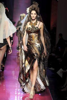 Jean Paul Gaultier Spring 2012 Couture Fashion Show - Emina Cunmulaj