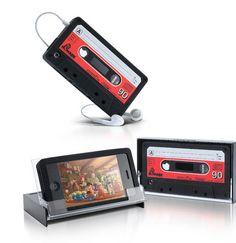 Retro Cassette iPhone 4 Cover - Packed Full Of Love