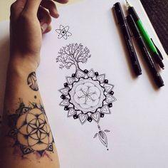 Mandala tree / Tattoo commission on Behance