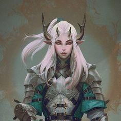 Image result for tiefling horns