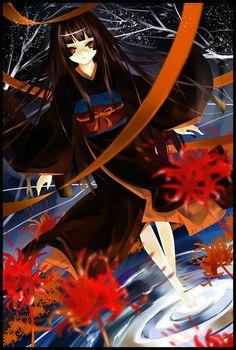 Tags: Anime, Jigoku Shoujo, Enma Ai, Tsurukame