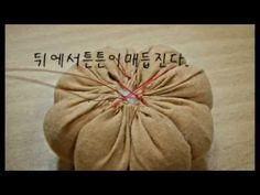 83.호박만들기(마녀)컨츄리인형무료강좌Country Doll - YouTube