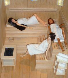 Momoko World: Sauna