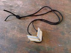 Make a Hardware Bracket Necklace @ Dollar Store Crafts
