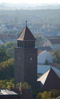 Szeged Hungary  Honvéd téri református templom http://hu.wikipedia.org/wiki/Honvéd_téri_református_templom