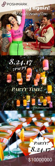 Hosting my 2nd party! 8/24 7pm PT Please save the date and join me as I co-host my second party! Theme TBA. Thursday, August 24th at 7pm PT. Hope to see you there!!! ~Kathleen Accessories