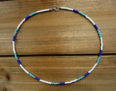 Glow Necklace, A Brilliant Glow Jewelry Item Beaded Chocker, Beaded Choker Necklace, Seed Bead Necklace, Seed Bead Jewelry, Diy Necklace, Beaded Bracelets, Silver Choker, Silver Ring, Embroidery Bracelets
