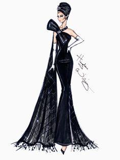 Hayden Williams Fashion Illustrations | Hayden Williams Haute Couture SS14 pt3