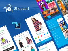 Free UI PSD for #eCommerce #mobileapp screen developed by Peerbits https://dribbble.com/shots/2881191-Free-UI-PSD-for-eCommerce-mobile-app