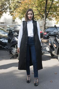 Pin for Later: 6 Fresh Ways to Wear Your White Shirt Go For Absolute Polish
