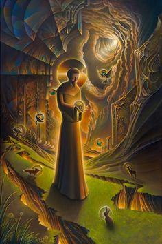 Recognition (The compassion of St. Francis) - Michael Divine, TenThousandVisions