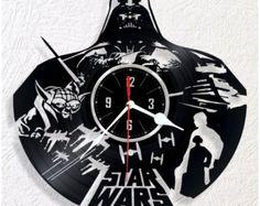 Reloj de pared de vinilo STAR WARS