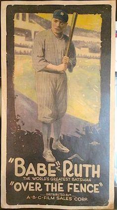 Baseball Movies, Baseball Cards, Babe Ruth, The World's Greatest, Film, Movie, Film Stock, Cinema, Films