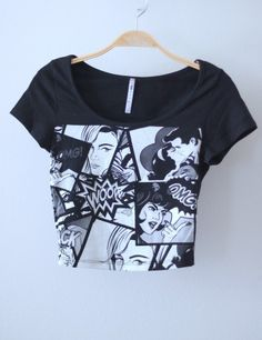 Comic Crop Top
