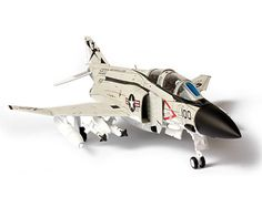 Forces Of Valor 1:72 McDonnell Douglas F-4J Diecast Model Airplane UN85021 McDonnell Douglas F-4J Phantom II Diecast Model Airplane. It is made by Forces Of Valor and is 1:72 scale (approx. 17cm / 6.7in wingspan). The McDonnell Douglas F-4 Phantom II™ is a tandem (two-seats), twin-engined, all-weather, long-range supersonic jet interceptor fighter/fighter-bomber originally developed for the United States Navy by McDonnell Aircraft. It first entered service in 1960 with the U.S. Navy. Du...