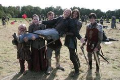 Behind the scenes Prince Caspian. this makes me so happy 83