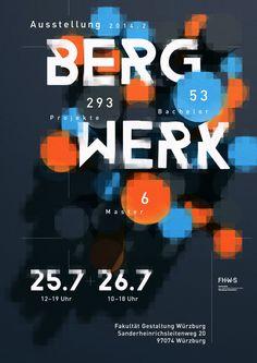 Bergwerk 2014.2 / Fakultät Gestaltung Würzburg