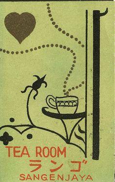 Japanese matchbox label by maraid, on Flickr